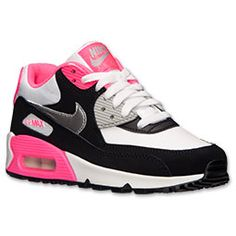 Nike.com; <p>The Nike Air Max 90 Kids' Running Shoes are a classic look ...