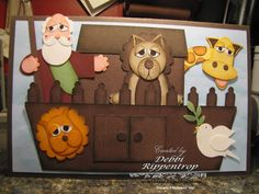 noah's ark...is this one of the best punch art card you've ever seen!