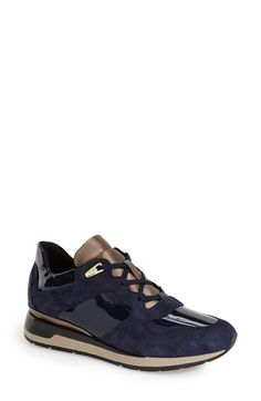 c7ebe771b3279 Geox 'Shahira' Sneaker (Women) available at #Nordstrom Navy Shoes, Lace