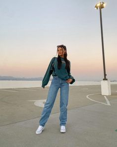 Retro Outfits, Cute Casual Outfits, Stylish Outfits, Girl Outfits, Fashion Outfits, Looks Pinterest, Mode Inspiration, Fashion Inspiration, Look Chic