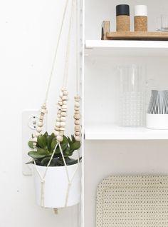 Groen in huis, mooie plantenhangers