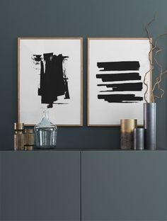 Black ink, poster in de groep Posters bij Desenio AB (8602)