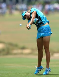 Lexi Thompson shows how she gets her power, final round of U.S. Women's Open, Pinehurst No. 2, June 22, 2014 (790×1024)