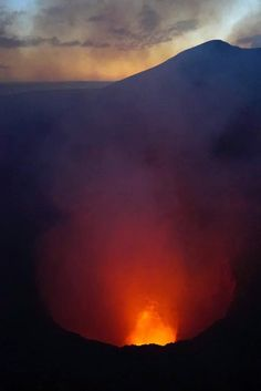 Volcanoes Today, 4 Jan 2016: Masaya Volcano, Momotombo - Masaya (Nicaragua): (3 Jan) A small lava lake, approx. 10x20 meters in diameter, is active inside the main crater of the volcano. This activity seems to have started in mid December and has been co...