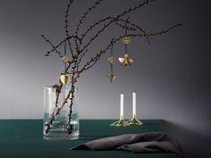 Stelton   Stern Kerzenhalter und Nordic Ornament, mini