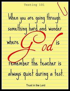 Believe in God.!