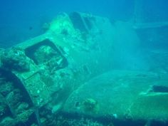 Saipan has crashed planes from world war 2 that are now natural coral reefs. They were never removed from the ocean. Close enough to snorkel.