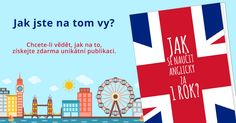 """Již více než 15 000 čtenářů si stáhlo náš eBook """"Jak se naučit anglicky za 1 rok?"""" Děkujeme za vaši přízeň! Flag, English, Logos, Logo, Science, English Language, Flags"""