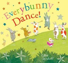 """Bunnies dance, play, sing, and make a new friend in this delightful picture book from the author of Follow Me!, which School Library Journal called """"a..."""