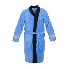 Sleepwear and Robes 166697  Star Trek Spock Adult Cotton Bathrobe -  BUY IT  NOW 088b2cf4f