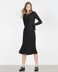 Image 1 of FLARED SKIRT from Zara