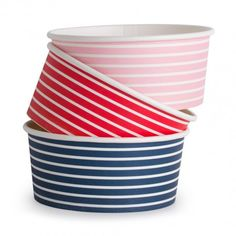 Paper Bowls - From $7.95. Mooo Party Products - Seriously stripey, seriously cute!