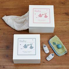 Baby Keepsake Box | Personal Creations