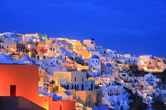 The island of Santorini, Greece or Thira is located in the Cyclades islands, in the middle of the Greek Islands of the Aegean Sea. Description from blog.puravidabracelets.com. I searched for this on bing.com/images