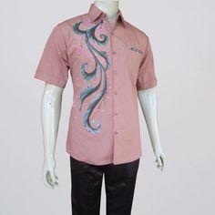 batik pria hem kemeja · jual baju batik pria modern lengan pendek lengan  panjang murah a0ef84c50b