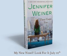 Just finished reading the latest book by Jennifer Weiner and loved it! She's hands-down one of my favorite authors.