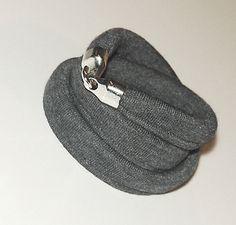 Triple cotton bracelet with a hook