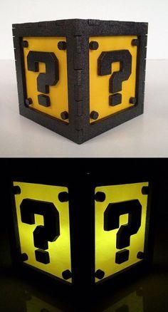 Mario Question Box Light Box