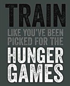 Train like you've been picked for The Hunger Games! #fit
