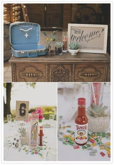 mexican-themed wedding decor