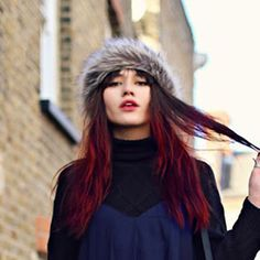 Red Ombre - the boldest ombré trend