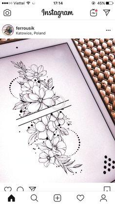 inspiration - flower tattoos designs - Tattoo inspiration -Tattoo inspiration - flower tattoos designs - Tattoo inspiration - 99 Stylish Flower Tattoos That You Deserve Delicate Flower Tattoo, Forearm Flower Tattoo, Small Forearm Tattoos, Small Flower Tattoos, Flower Tattoo Shoulder, Mandala Tattoo, Flower Tattoo Sleeves, Sleeve Tattoos, Tattoo Abstract