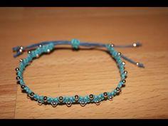 Makramee: Miniperlenarmband 2 | DIY - YouTube