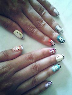 #mynails #shoes ♡
