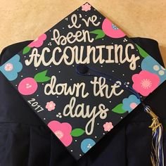 9 Best Accounting Graduation Cap Images In 2017 College Graduation
