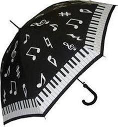"""PIANO Stick Automatic Open 40"""" Diameter Umbrella"""