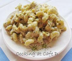Corner Bakery Cafe:  Chicken Pesto Cavatappi Taste-Alike!  - 15 Minutes
