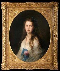 Grand Duchess Maria Alexandrovna of Russia (later Duchess of Edinburgh and…