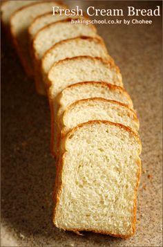 생크림 식빵