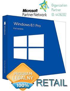 Microsoft Windows 8.1 Pro ESD Retail + DVD 32/64bit Multilanguage