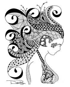 Zen Lady By Debi Payne