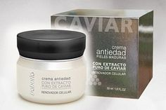 BABARIA BY CAVIAR RENOVADOR CELULAR (1.6 OZ) ANTI-AGING CREAM by Alterna. $34.87. CAVIAR EXTRACT, SHEA BUTTER, ALOE, AND VITAMIN E. ANTI AGING CREAM WITH PURE CAVIAR EXTRACT. ANTI AGING CREAM WITH PURE CAVIAR EXTRACT.