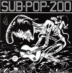 Various Artists, Sub-Pop 200 [3.60]: What an awesome compilation of some of Seattle's best in the pre-Nirvana explosion. It's got an awesome lineup that not only includes Nirvana, Soundgarden, and Green River; but it also includes other bands that were part of the scene but may not have received any national acclaim. The Fastbacks. Cat Butt. Girl Trouble. Swallow. Each of them contributes mightily to this collection. And there's so much more. 7/11/17