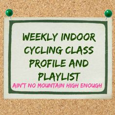 Cycling Class Profile and Playlist
