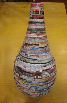 Neat line of home decor -- made from recycled magazines. Zoo Atlanta Trading Company Gift Shop
