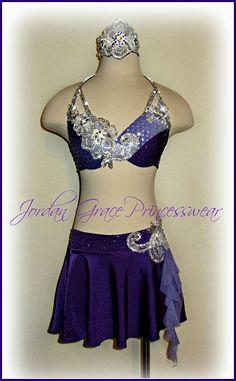 www.JordanGracePrincesswear.com custom lyrical solo costume