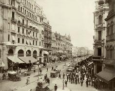 Avenida Central, Rio  Marc Ferrez, 1910