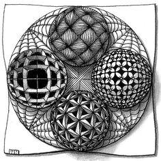 Zentangle Art | ZENTANGLE Art / zentangles