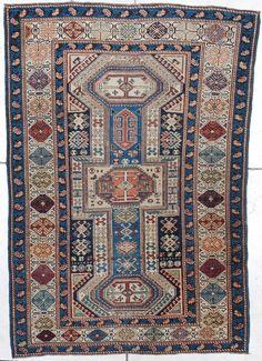 Antique Caucasian Shirvan Oriental Rug