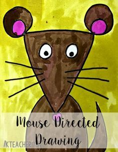 Directed Mouse Drawings (for The Mouse and the Motorcycle craftivity)