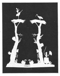 Hans Christian Andersen - Paper Cut Illustrations