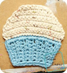 Free pattern (verified) - use as a coaster or cloth.