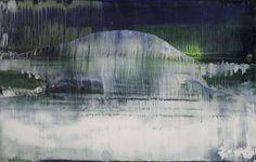 Koen Lybaert; Oil, 2012, Painting abstract N° 423