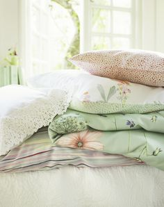 Schlossberg le vent du sud SS13 Bed Pillows, Cushions, Fabric Wallpaper, Surface Pattern, My Dream Home, Sweet Dreams, Deco, Comforters, Pillow Cases