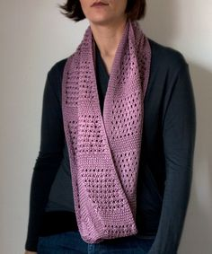 Canaletto Cowl infinity scarf - free pattern