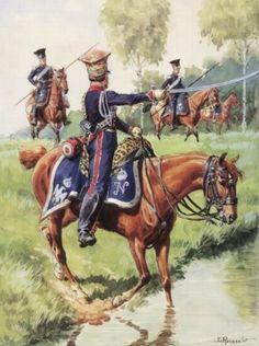 Cavalleggero polacco della guardia imperiale francese - Lucien Rousselot